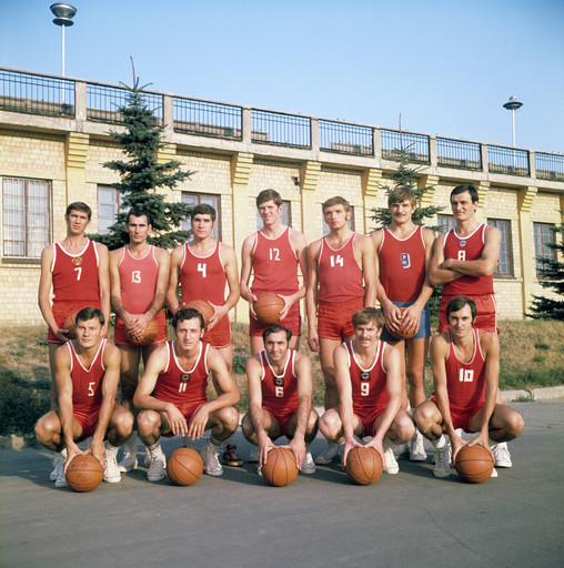 Сборная СССР образца 1972 года