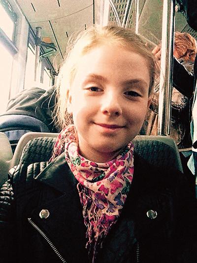 Катя Бачинская в детстве