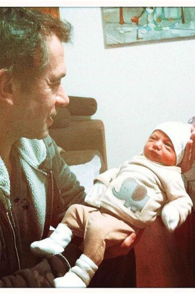 Владимир Машков с внучкой