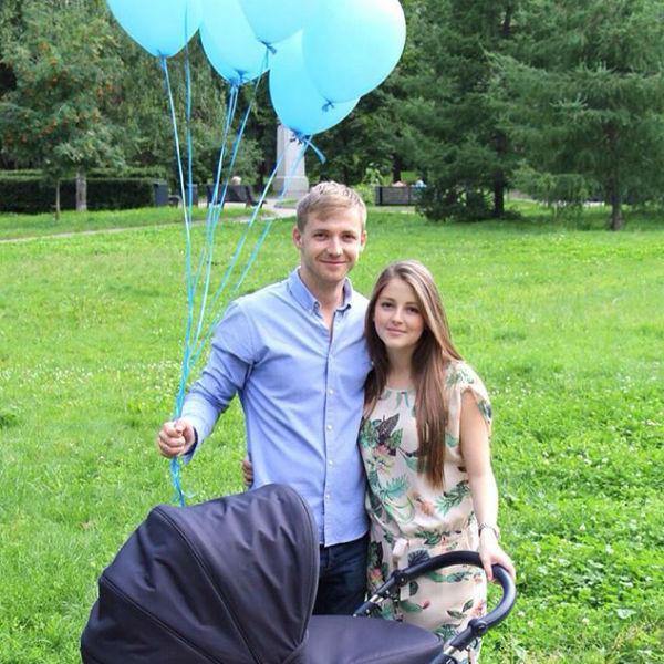 Анна Михайловская и Тимофей Каратаев стали счастливыми родителями мальчика
