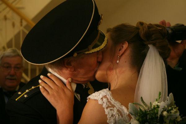 Иван и Наталья сыграли свадьбу в сентябре