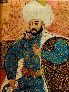 Так изображали кровожадного султана на миниатюрах
