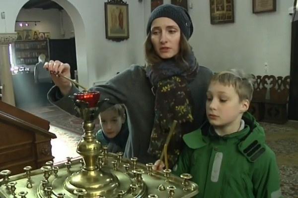 Анастасия с детьми живет в Берлине