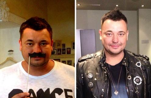 Сергей Жуков «до» и «после» диеты