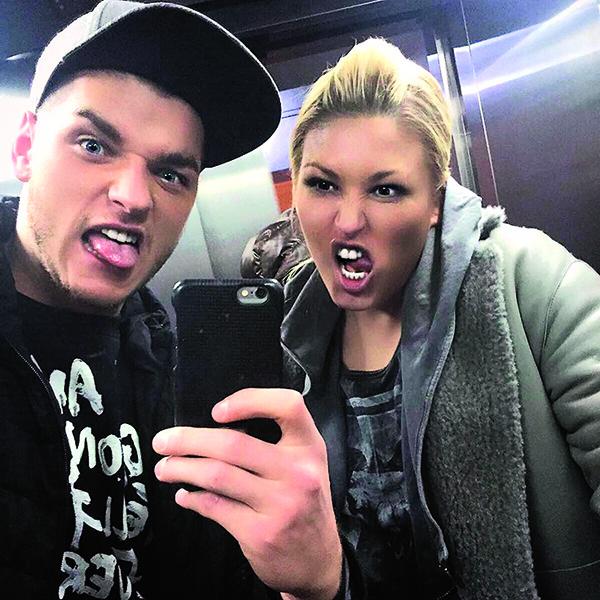 Новый бойфренд размещает фото с Ириной в соцсетях
