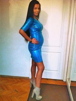Юлия Салибекова снова беременна