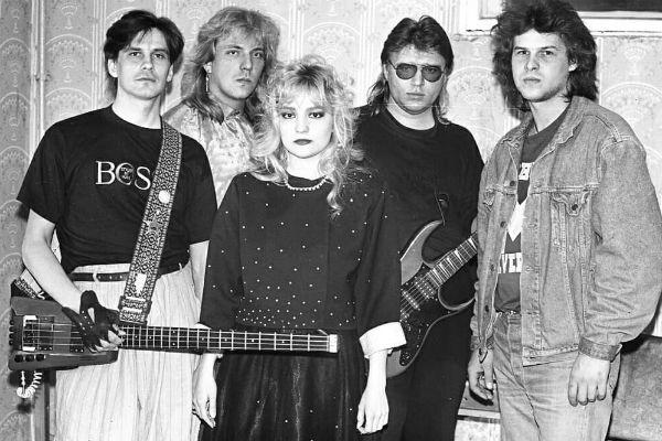 Таня Буланова и группа «Летний сад», начало 90-х