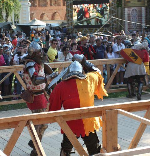 Посетители Зарайского ратного сбора смогут принять участие в рыцарских турнирах