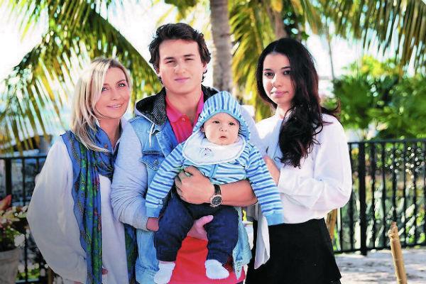 Татьяна часто навещает сына Игоря – он живет в Америке с женой Заией и сыном Сашей