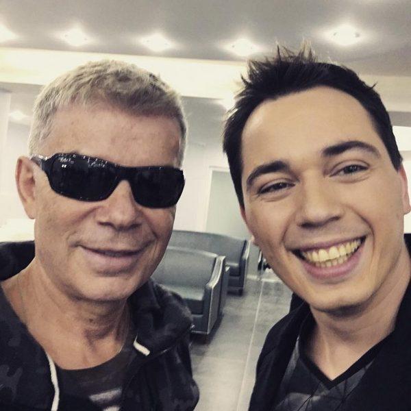 Родион Газманов вместе со своим знаменитым отцом