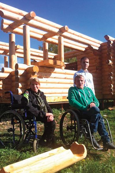 В середине октября дети-инвалиды переехали в новый дом