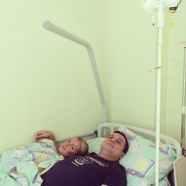 Волочкова по-своему лечит Салимова