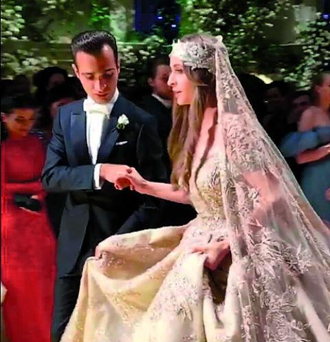 Лилита и Гаспар смотрелись волшебно