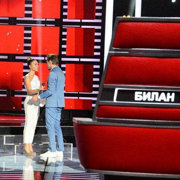 Оксана решила, что в команде Димы Билана ей будет комфортнее