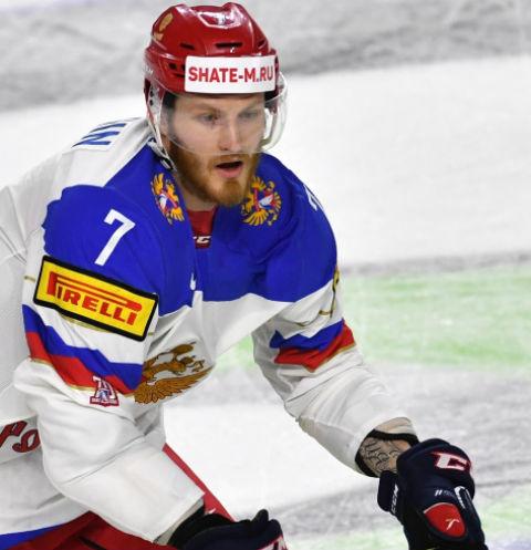 С февраля прошлого года Телегин играет за сборную России