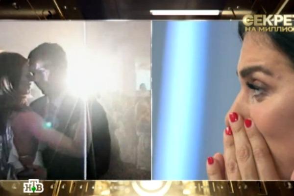 Увидев ролик со свадьбы, Седокова не смогла сдержать слез