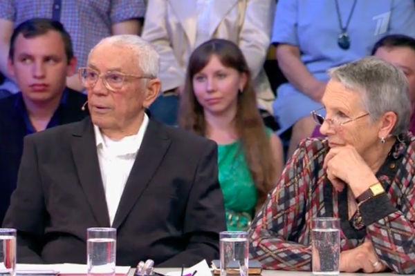 Олег Анофриев с женой