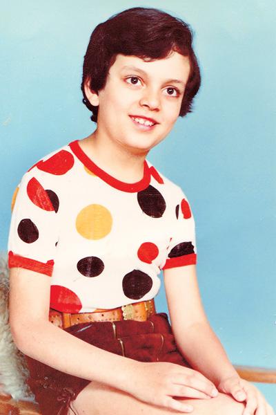 Филипп любил ярко одеваться и выделялся среди других ребят, 1977 год