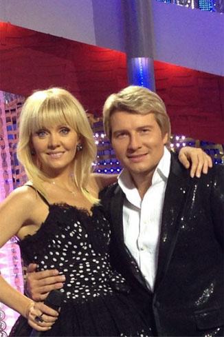 Валерия и Николай Басков