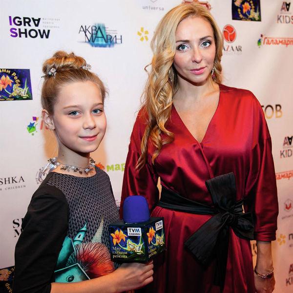 Настя Годунова и Татьяна Навка