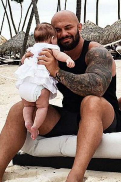 Джиган с дочерью Леей