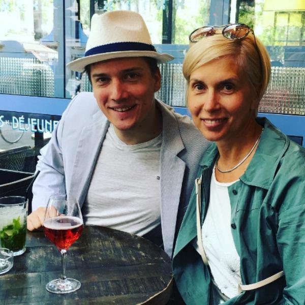Алена Свиридова с сыном