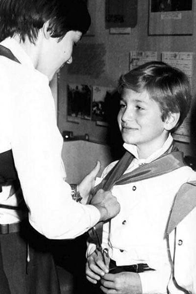 Юный пионер Леня, 1977 год