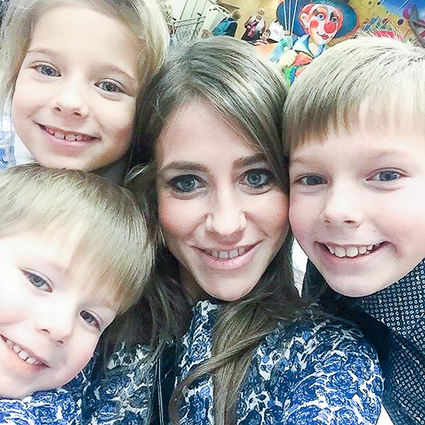 После развода Барановская одна воспитывает сыновей и дочь