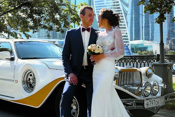 Юрий Андреев с невестой
