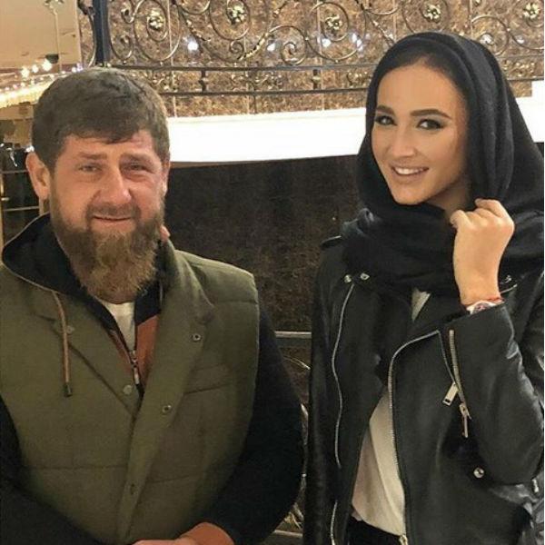 Ольга Бузова встретилась с Рамзаном Кадыровым