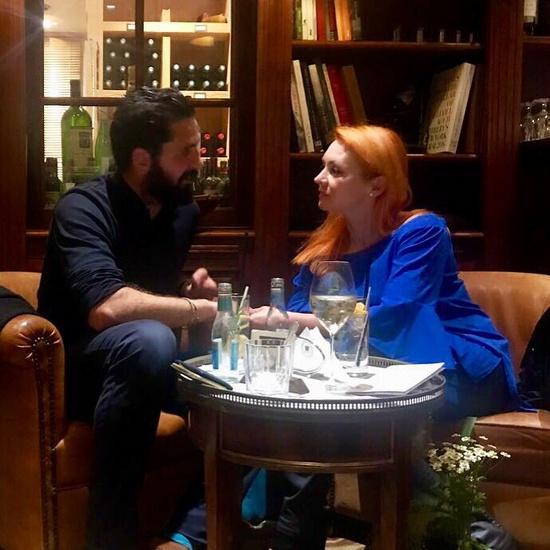 Марина Анисина познакомилась с иностранцем на показе мод