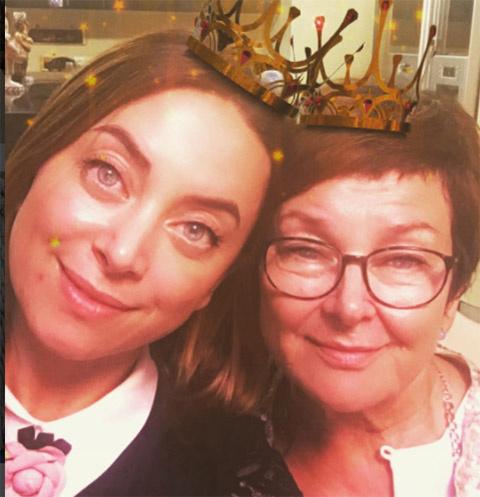 Наталья Фриске с мамой Ольгой Владимировной