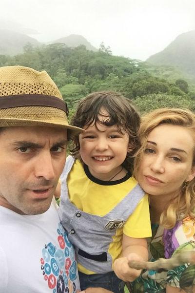 Анфиса Чехова и Гурам Баблишвили воспитывают трехлетнего сына Соломона