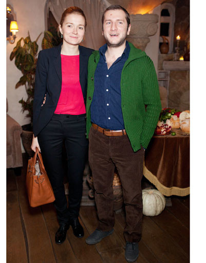 Надежда Михалкова с мужем