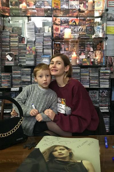 Кристина Бардаш с сыном