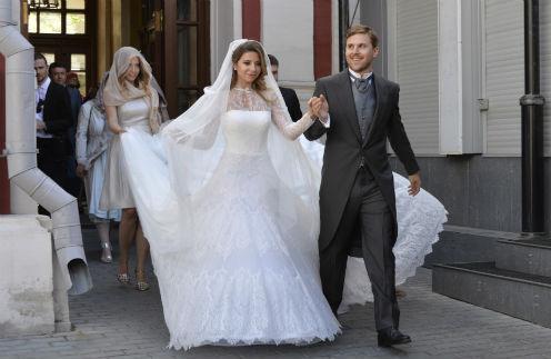 За 48 часов до свадебного вечера Петр и Галина обвенчались в храме Климента Папы Римского