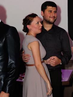 Татьяна Морозова с супругом Павлом