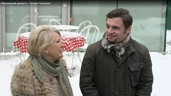 Галина Польских с внуком Филиппом