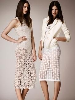 Перфорированные платья главный тренд этого сезона