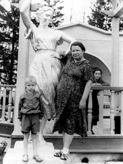 Борис Моисеев с мамой