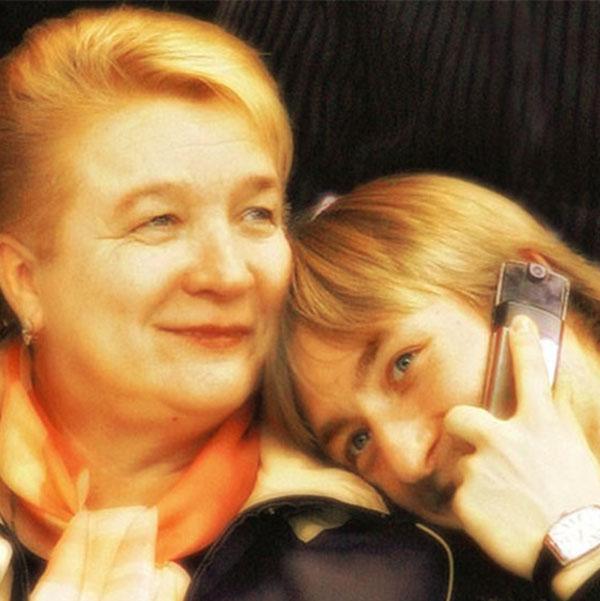 Евгений Плющенко и его мама Татьяна Васильевна