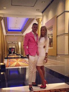 Ольга и Дмитрий на отдыхе