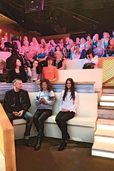 Таня не могла поверить, что оказалась в студии Первого канала