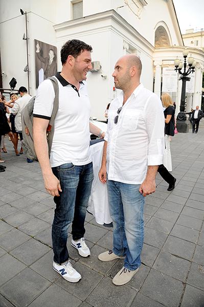 Максим Виторган и Ростислав Хаит