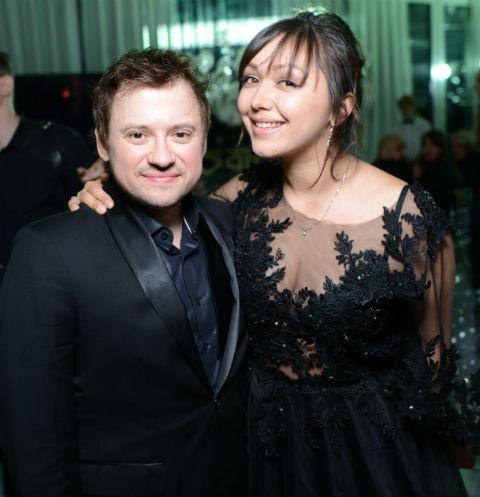 Андрей Гайдулян с женой Дианой
