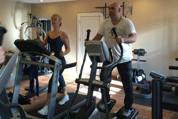 Валерия и Иосиф Пригожин занимаются спортом