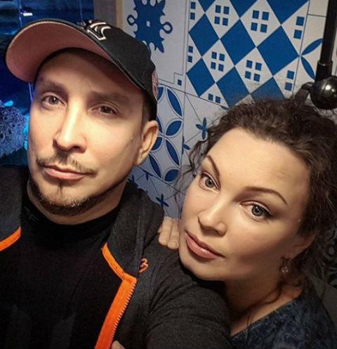 Данко и его экс-супруга Наталья