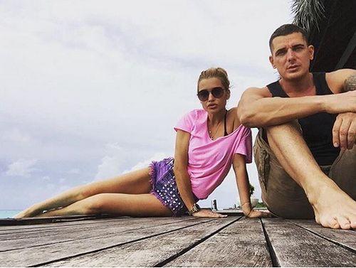 Ксения и ее муж отдыхают на Мальдивах