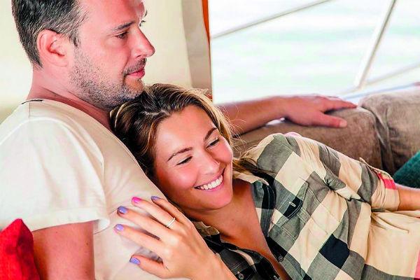 Мария и Евгений обвенчались в 2013 году