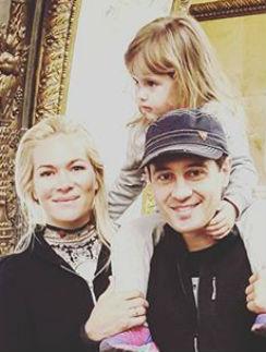 Супруги Макарские с дочерью Машей